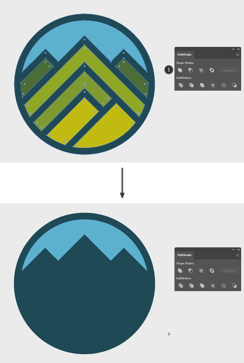 mountona- mountains logo Design