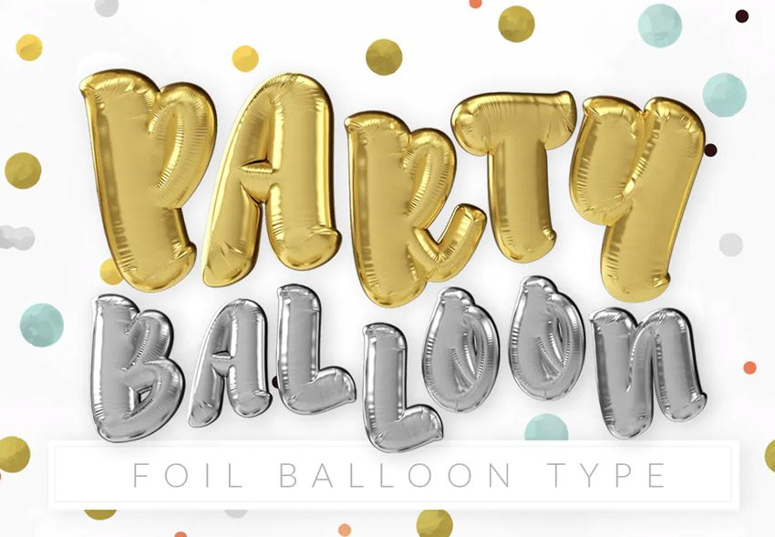 foil balloon type