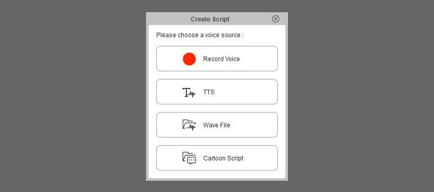 add voice