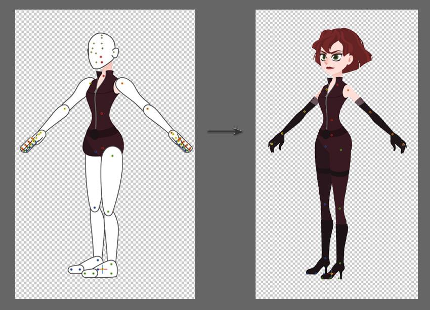 custom character