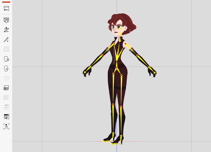 changes sent to cartoon animator