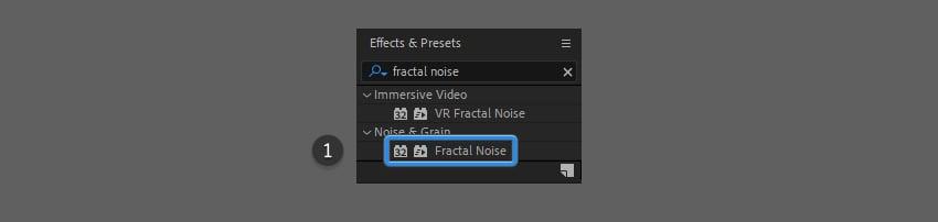 add fractal noise