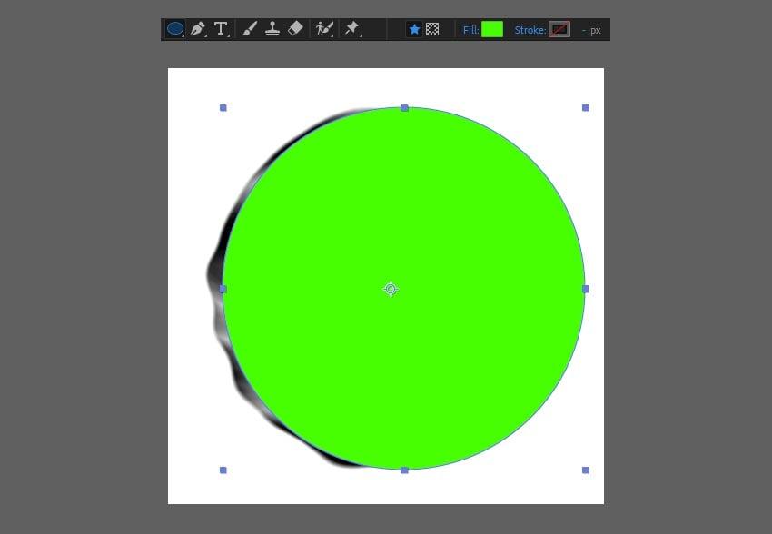 create a green circle