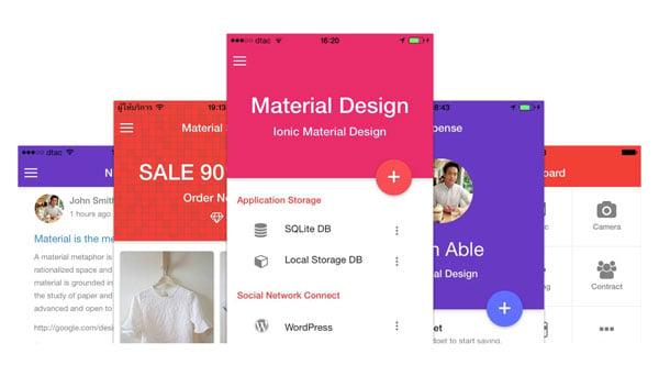 Ionic Material Design