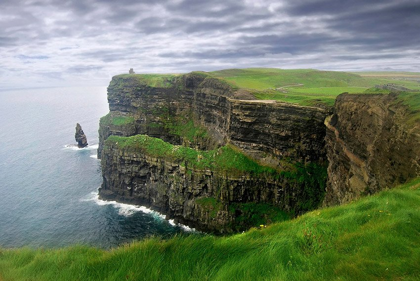 cliffs in Ireland