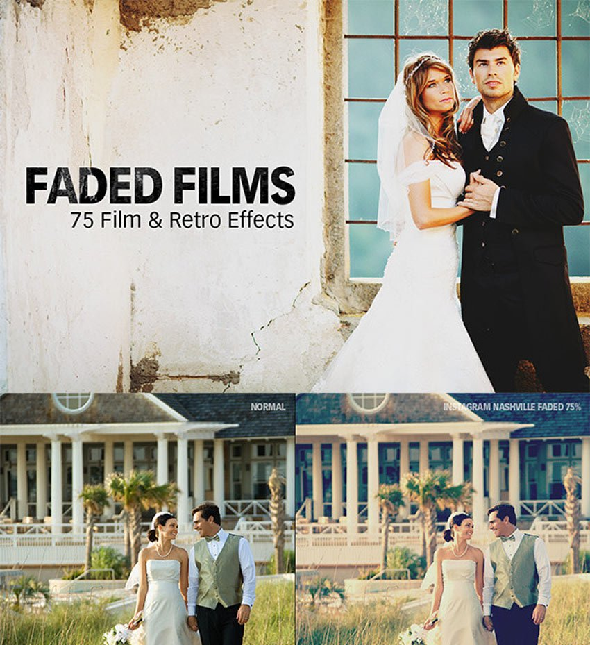 Faded Films - 72 Film Retro Effect