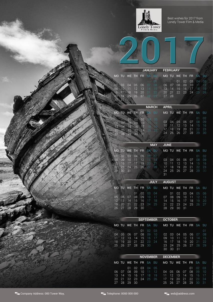 finished calendar