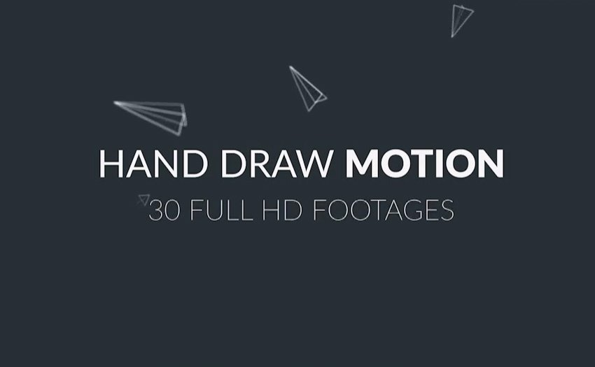 Hand Draw Motion Clips