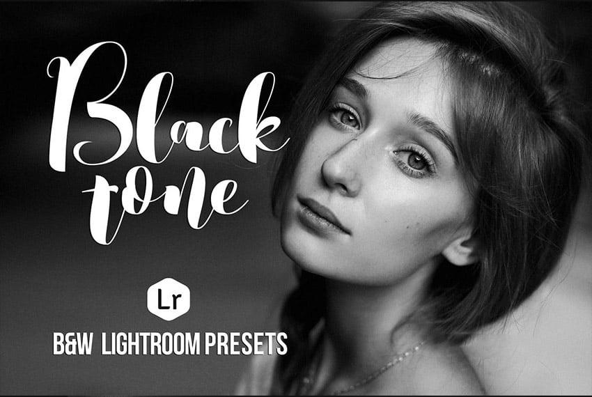 Blacktone Lightroom Black and White  Presets