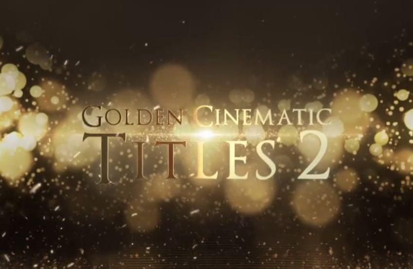 Golden Cinematic Titles 2