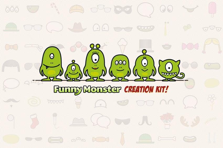 Monster Family Creation Kit