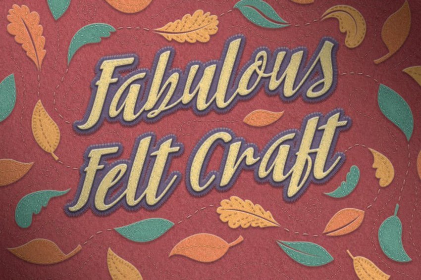 Felt Craft - Stitches Styles  More