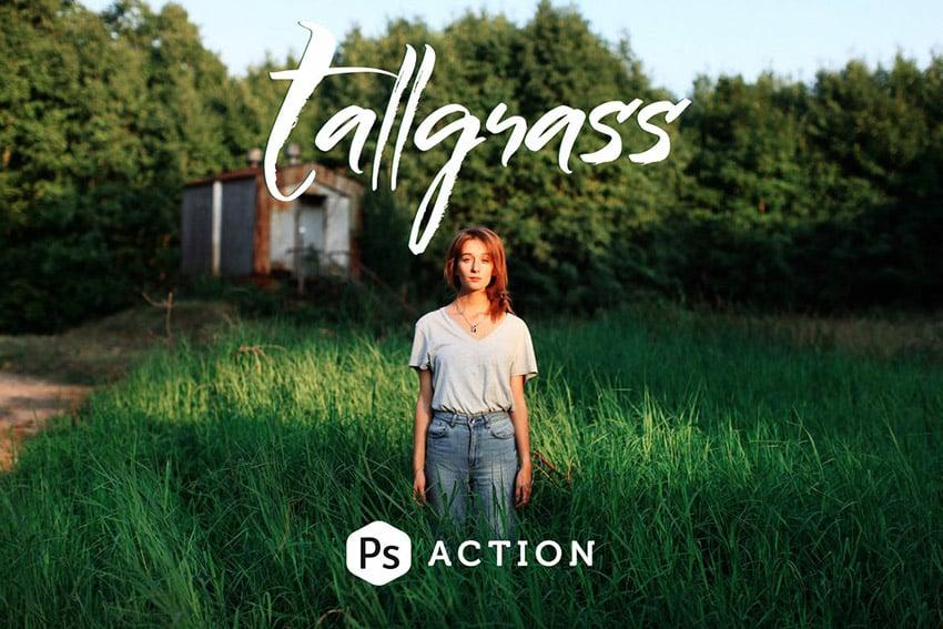 Tallgrass  Adobe Photoshop Action