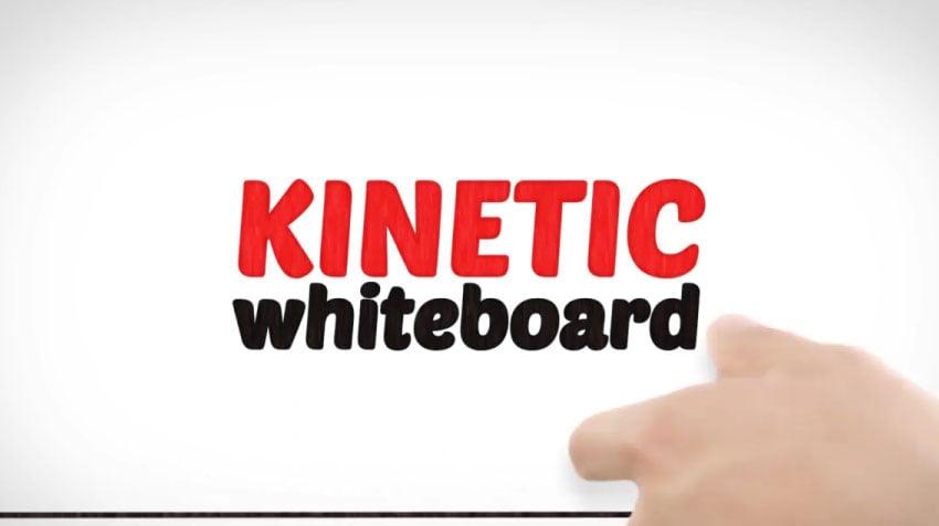Kinetic Whiteboard