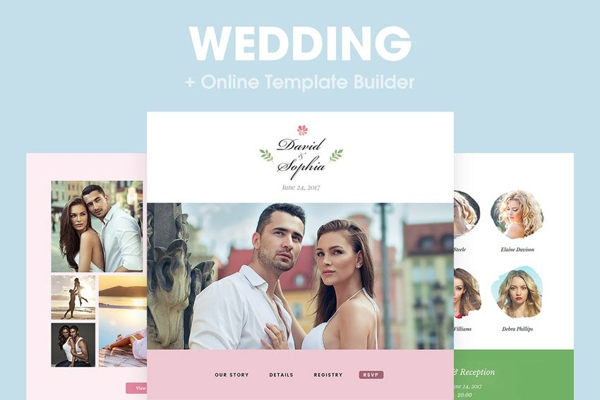 Wedding - Responsive Email Template