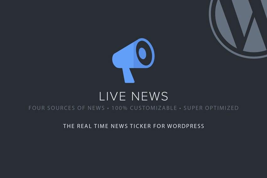 Live News - Real Time News Ticker