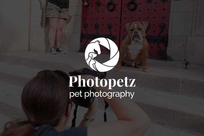 Photopetz  Pet Photography Logo