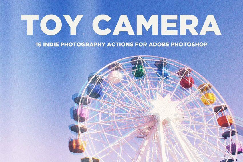 Toy Camera Photography Actions for Adobe Photoshop