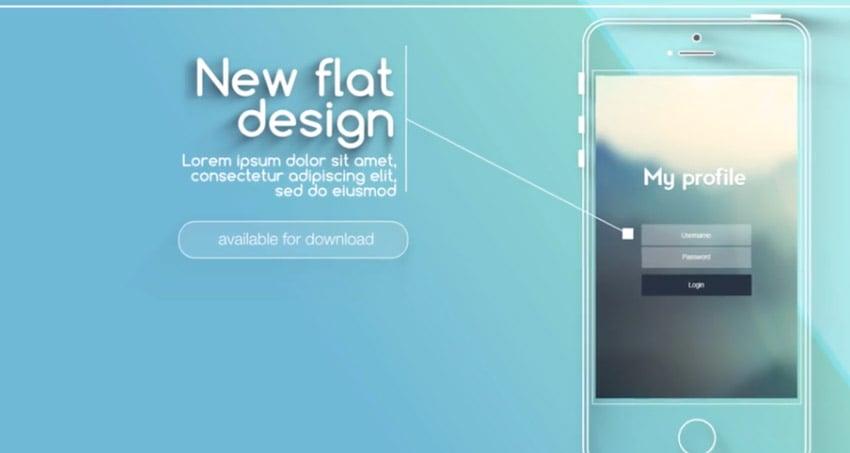 Flat and Modern App Explainer