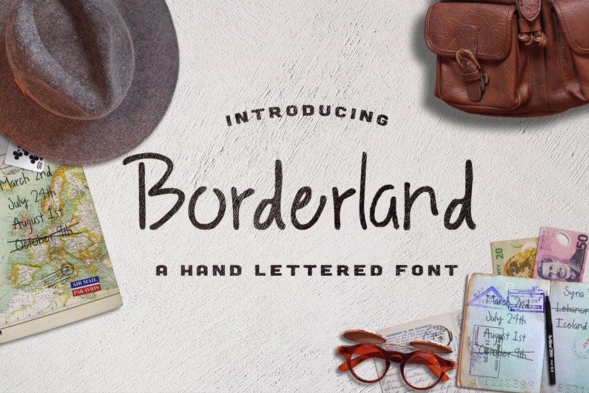 Borderland Font