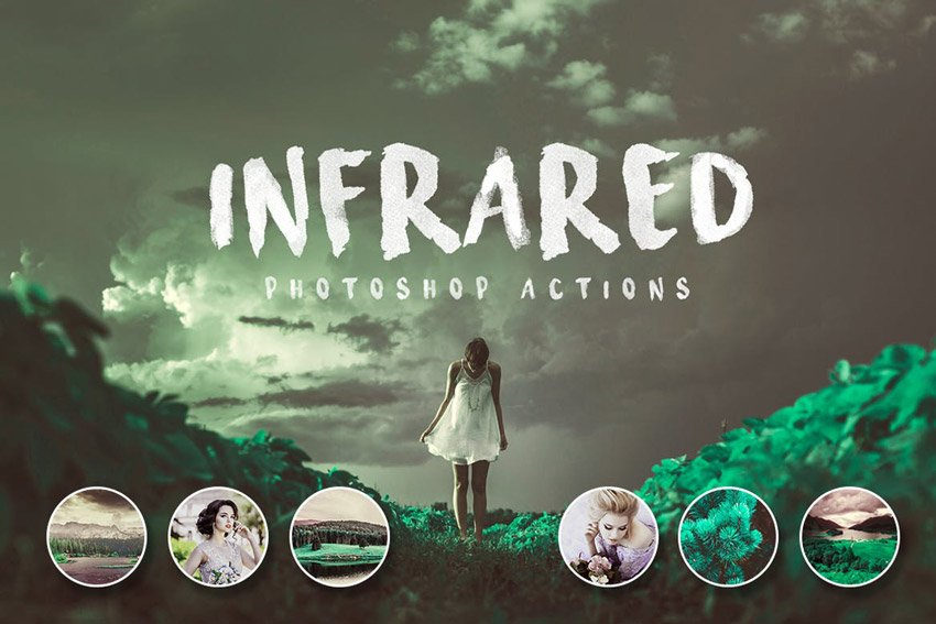 Infrared Photoshop Actions