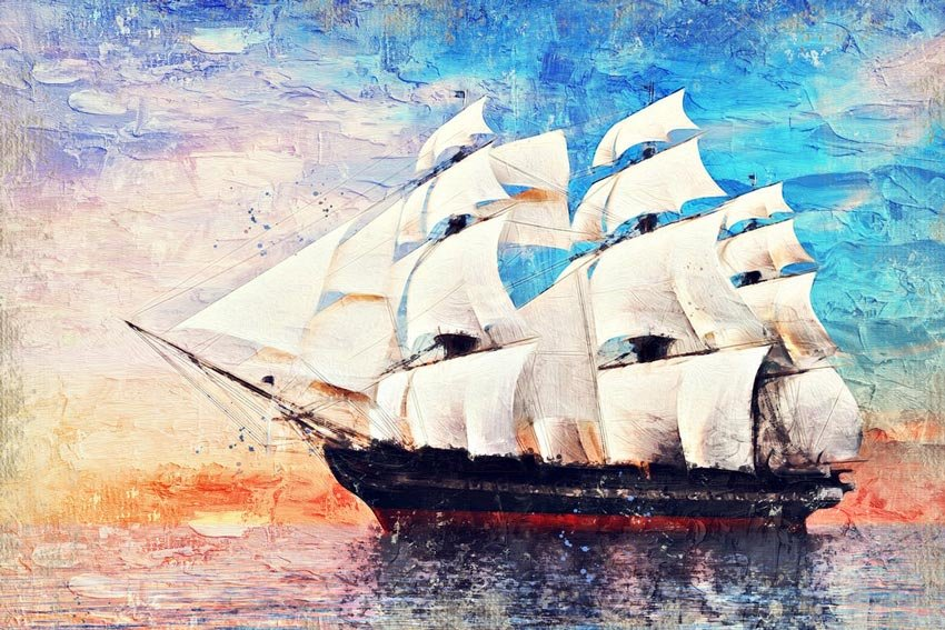 Impasto Oil Paint Photoshop Action