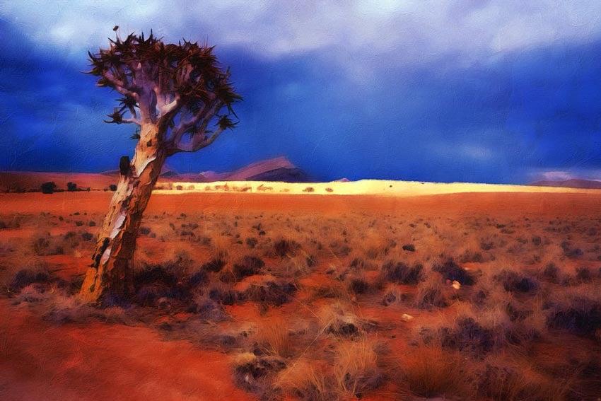 Oil Paint Photoshop Action