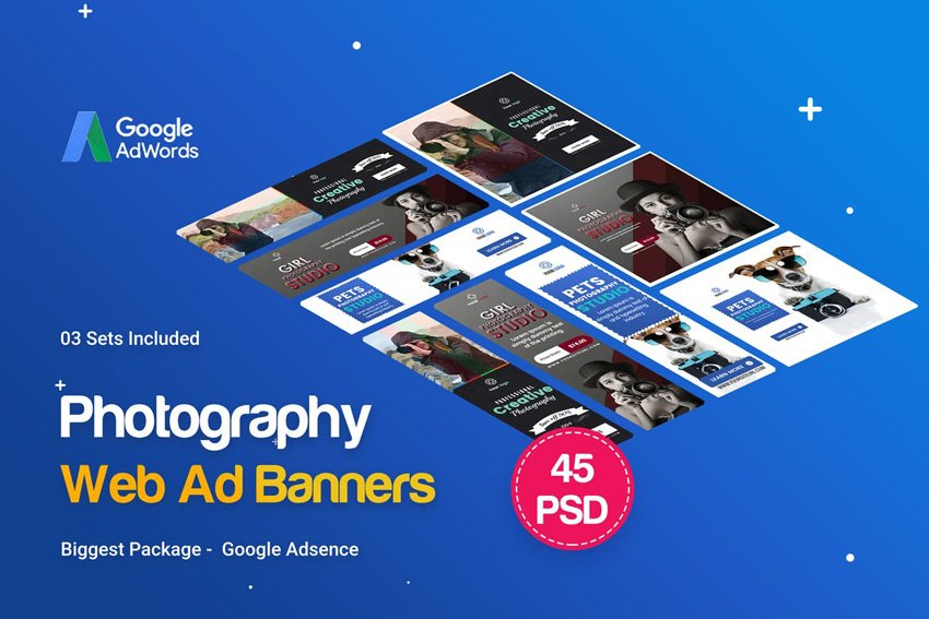 Photography Banners Ad
