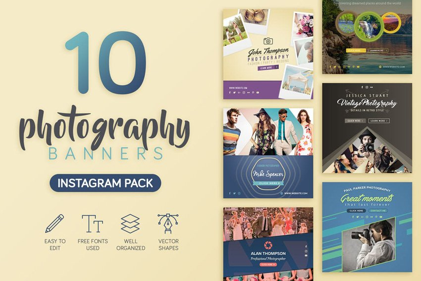 Photography Banners