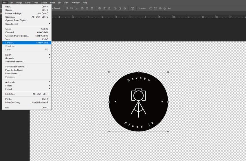 resize your logo