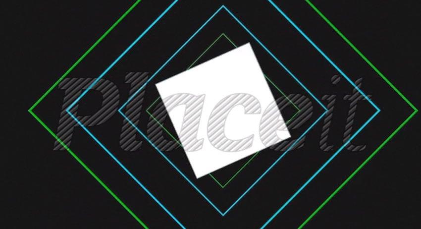 Logo Reveal with Futuristic Graphics