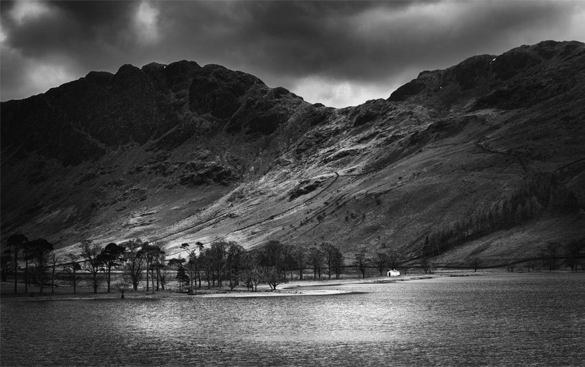 The Lake District Black and White Marie Gardiner
