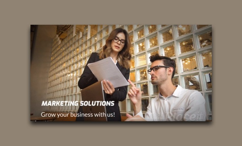 Product Overview Slideshow Maker for Marketing Services