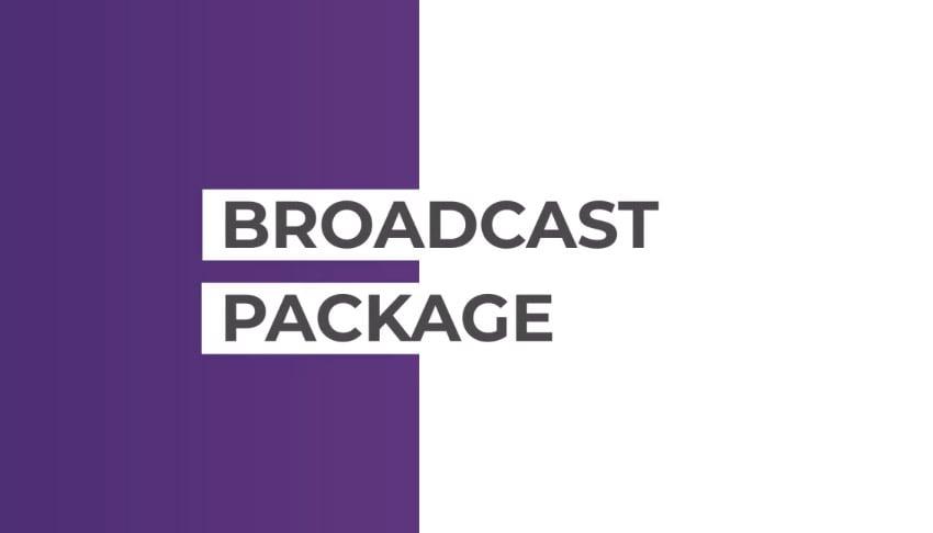 Broadcast Pack  Essential Graphics  Mogrt