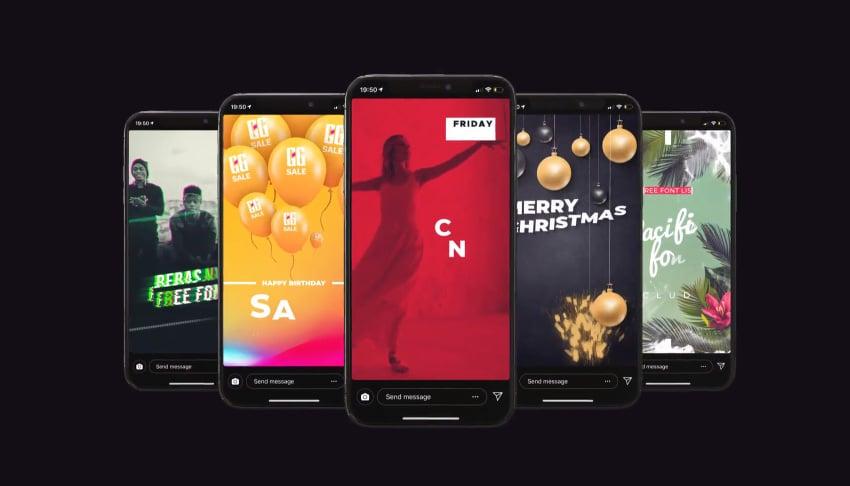 Huge After Effects Instagram Stories Download Pack
