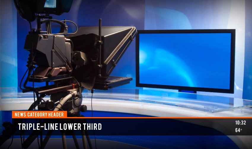 Local News Broadcast  MOGRT for Premiere Pro