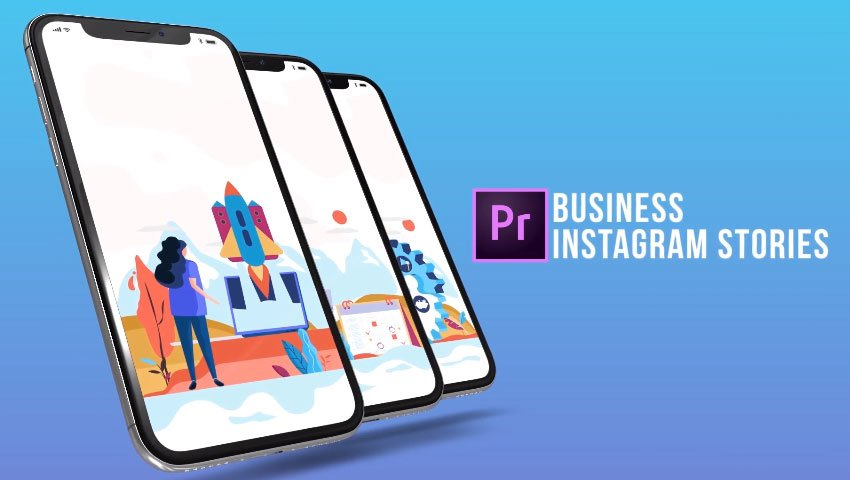 Business - Instagram Stories MOGRT