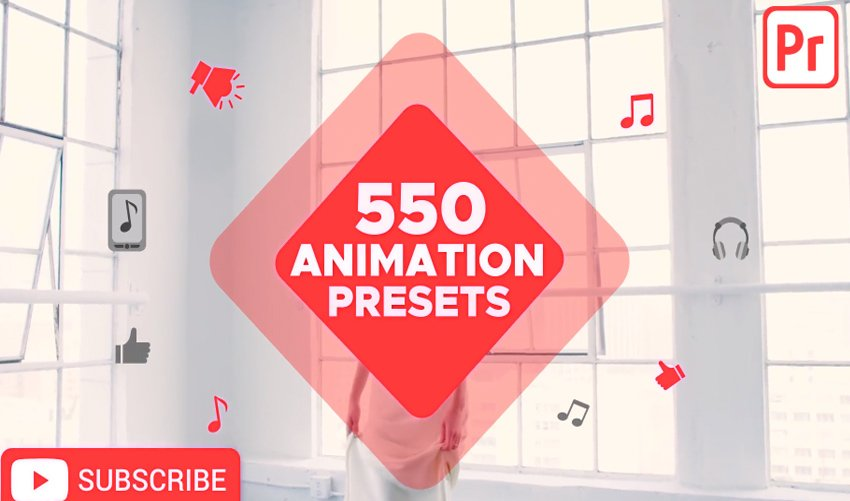 Animation Presets for Premiere Pro