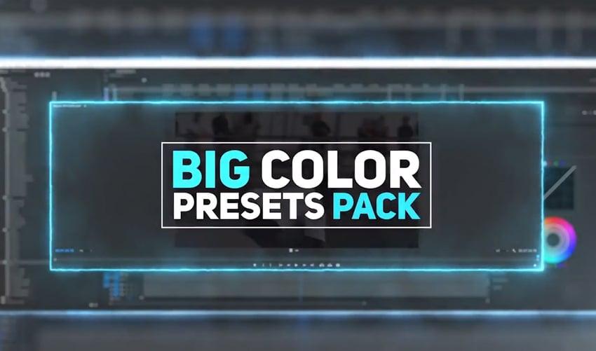 Big Color Presets Pack