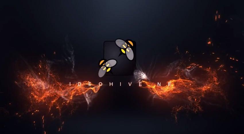 Fire Logo Intro