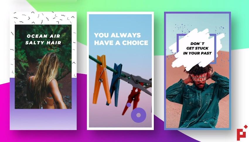 100 Instagram Stories For Final Cut Apple Motion