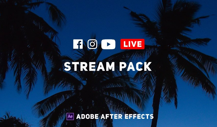 Online Live Streaming Pack
