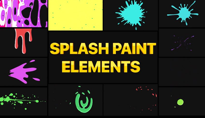 Splashes Pack  After Effects