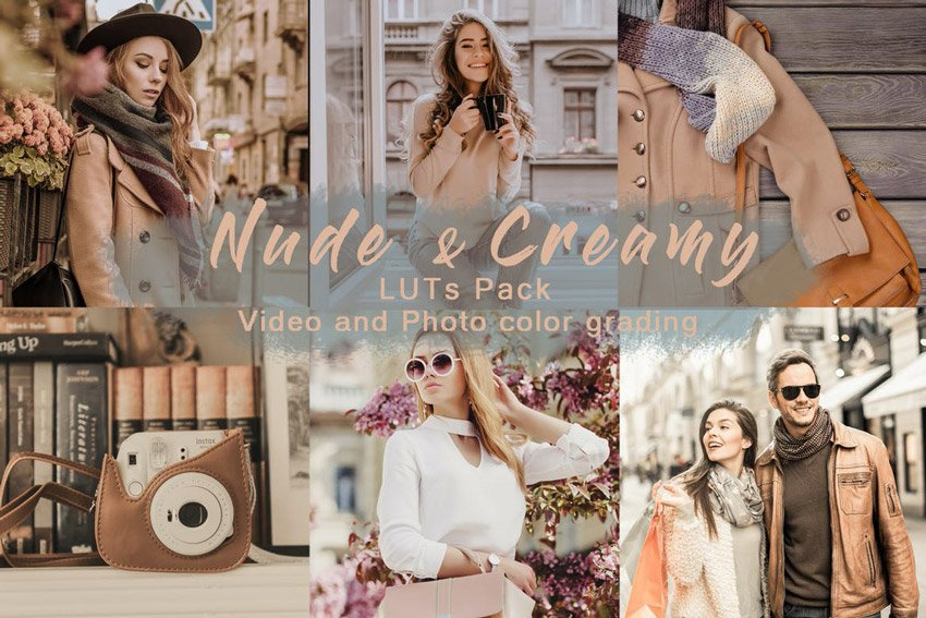 Nude  Creamy  LUTs Pack