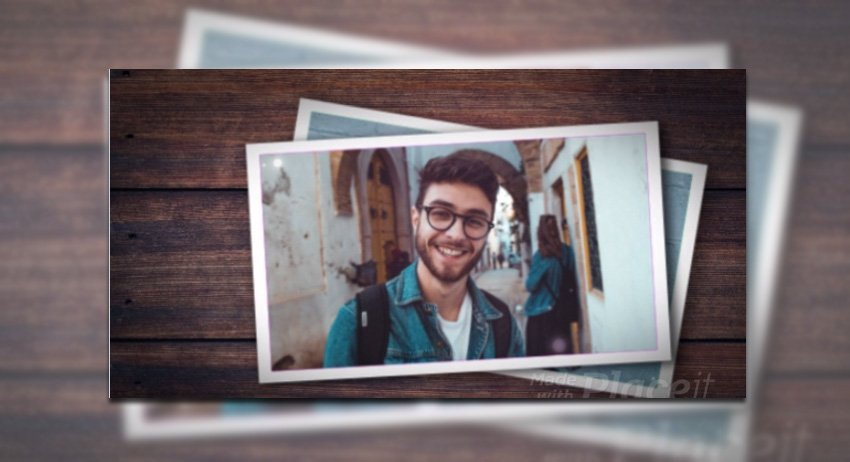 Cool Photo Slideshow Video Maker with a Hipster Vibe