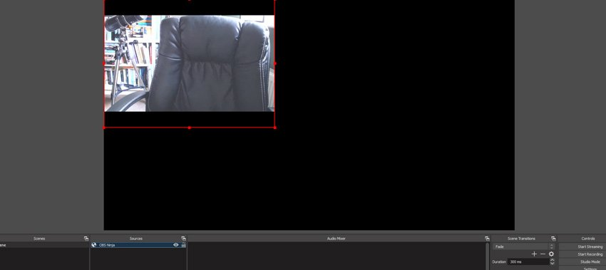 external camera feed in OBS Studio