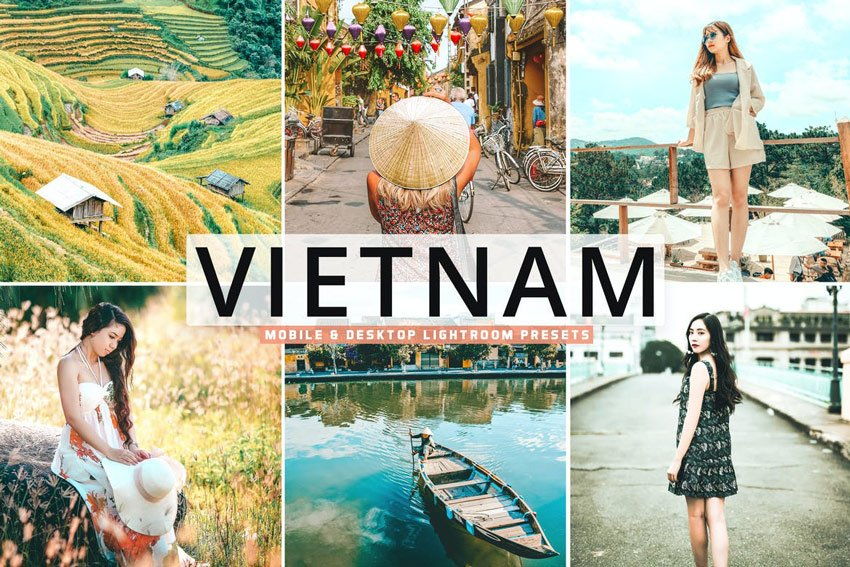 Vietnam Mobile  Desktop Lightroom Presets