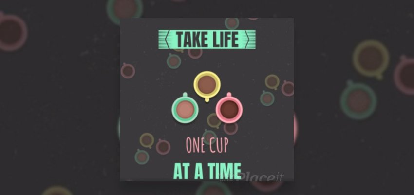 Instagram Post Video Maker Featuring Animated Coffee Graphics