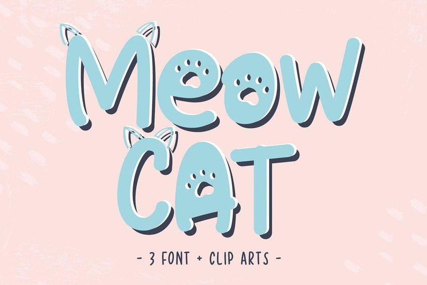 Cat Meow Font