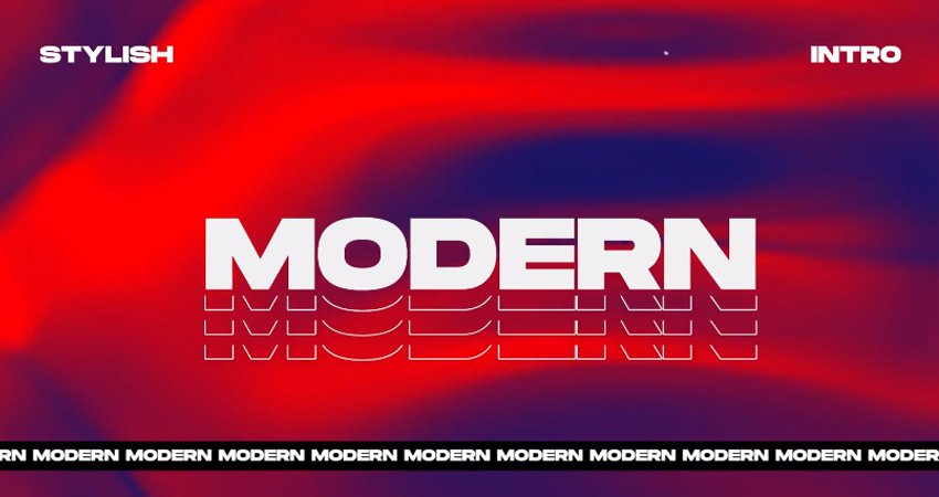 Modern Stylish Intro from Envato Elements